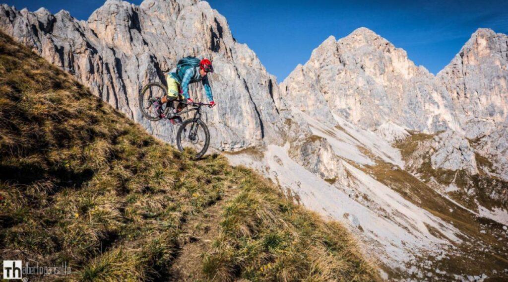 Michele Ferro sulle Dolomiti