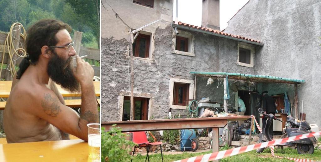 Mauro Pretto e la sua casa tra i boschi di Zovencedo
