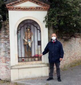 Davide Parpajola e il capitello di San Rocco