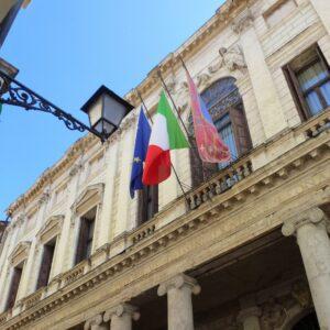 palazzo Trissino Baston facciata corso Palladio