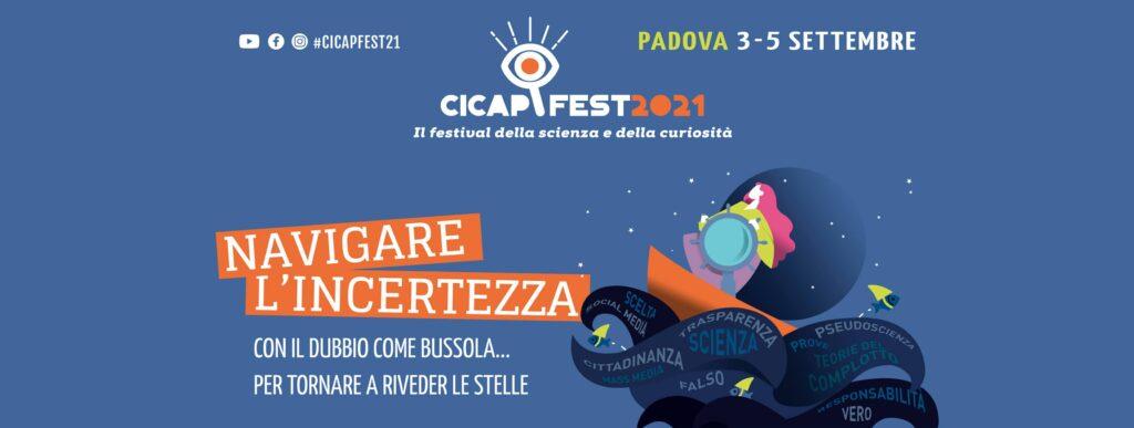 CICAP FEST scienza curiosità padova 2021 festival