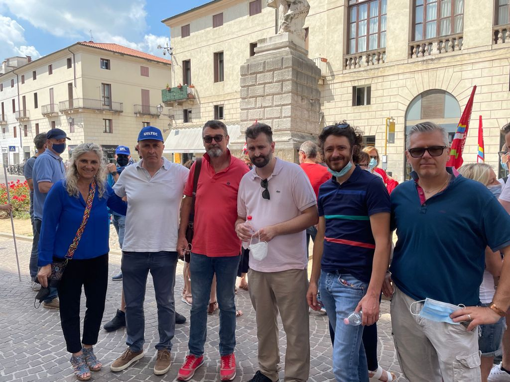 dirigenti sindacali tessili Vicenza