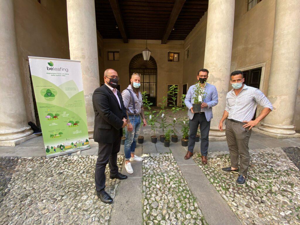 50 piante donate a Vicenza