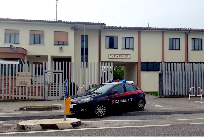 carabinieri di Thiene caserma