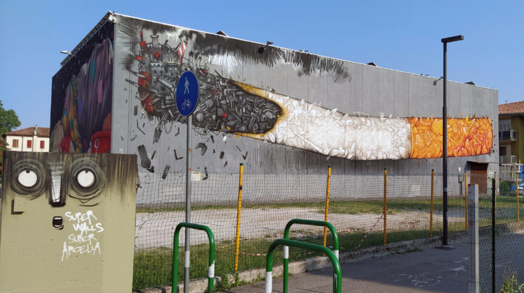 street art super walls padova