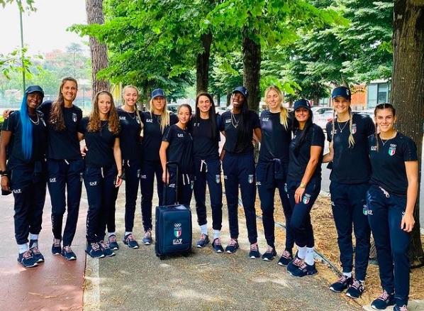 Italvolley nazionale pallavolo femminile 2021 a Tokyo