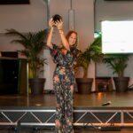 Cristiana Vaccarino riceve il premio per Sogedin