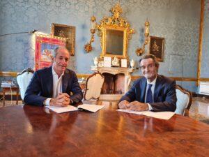 Il presidente Regione Veneto e il presidente Regione Lombardia