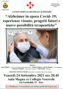 Giornata Mondiale Alzheimer 2021