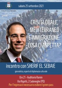 L'incontro con Sherif El Sebaie