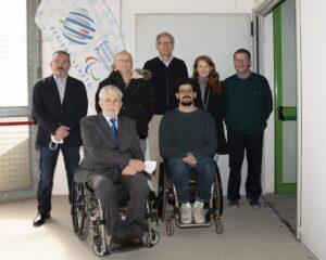 La giunta del Comitato paralimpico Veneto