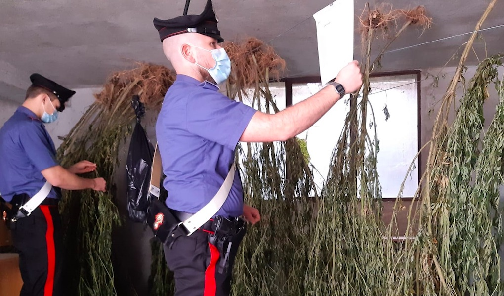 carabinieri a Torrebelvicino