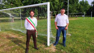 Il sindaco Luca Durighetto e l'assessore Andrea Favaretto