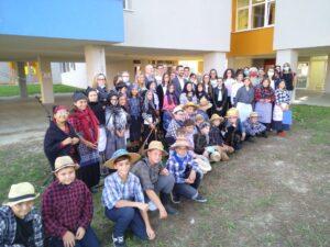 La rappresentazione musicale e azione scenica realizzata dagli alunni dell'Istituto Comprensivo di Porto Tolle